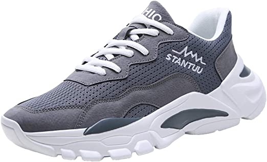 Chunky Sneakers for Men の 2019 Fall,Winter Fashion Shoes Street,Style Cool  Mens Trainers Hip Hop Running Sneakers