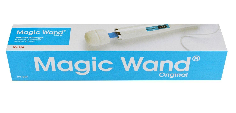 Amazon.com: Hitachi Magic Wand Original Massager HV-260 with 2 White Attachments: Health & Personal Care
