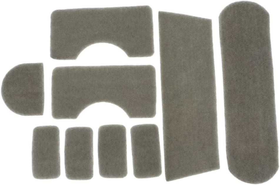 9 Pz Set Adesivo da Imbottitura per Casco MICH Acessprio Protettivo Tattico
