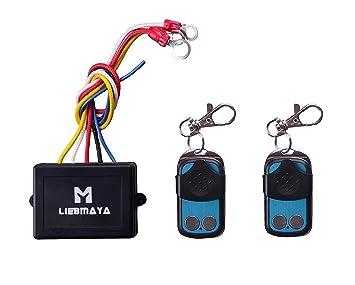 Amazon.com: LIEBMAYA - Kit de control remoto inalámbrico ...