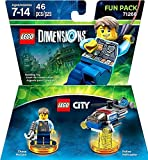 Lego Dimensions Starter Pack + Goonies Level Pack + Lego City Chase McCain + Superman Fun Packs for Playstation 4 or PS4 Pro Console