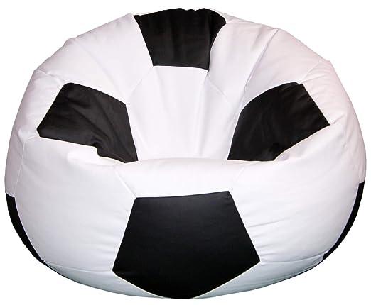 baselli - Puf de Piel sintética, diámetro de 100 cm, balón de ...