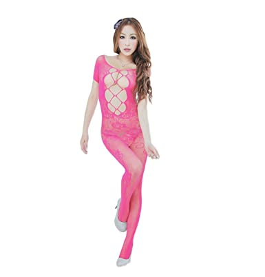 7fcb2064a4 OnMeFocus Hot Bodystocking Babydoll Dress Lingerie for Women -WWXL-020   Amazon.in  Clothing   Accessories