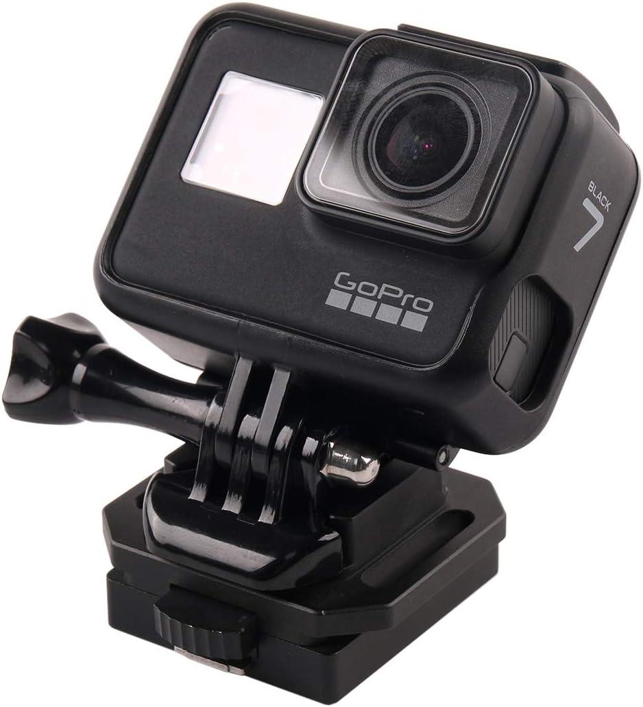 MEETBM ZIMO,GP193 Aluminium Alloy Helmet Selfie Stand for GoPro Hero 1//2//3//3+//4//5 Session//6//7 Xiaoyi and 4K 2 Generation Sports Camera