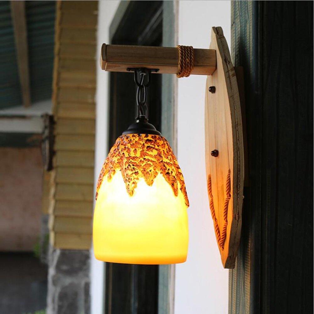 ウォールランプレジンシェードウォールライトアンティークウォールランプクリエイティブな農家ウォールランプレストランパーソナリティカフェティールーム110v-220v E27バー、カフェ、レストラン、衣料品店、装飾的な壁のライト (UnitCount : 220v) B07DJ3CPXG 15727   220v