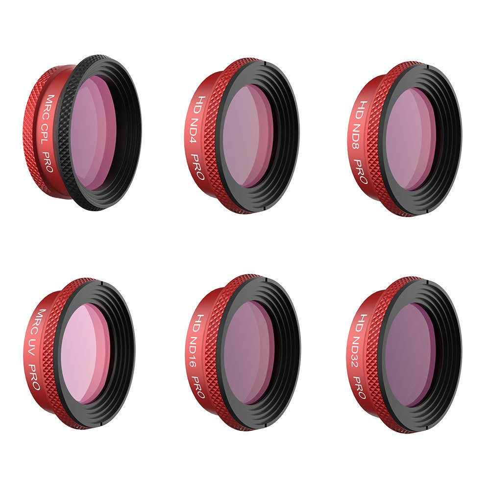 Drone Filter PGY UV CPL ND4/8/16/32 Lens Filters for DJI Mavic AIR Professional Edition