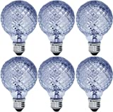 GE Lighting 71373 40-Watt 390-Lumen G25 Light Bulb with Medium Base, 6-Pack