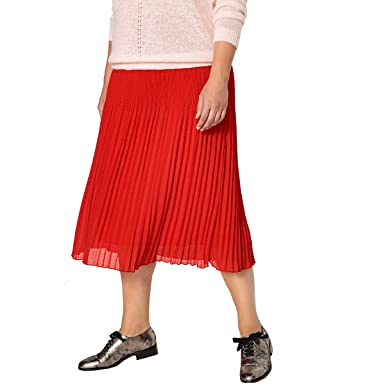 La Redoute Castaluna Womens Pleated Midi Skirt at Amazon Women s Clothing  store  059b3e1c454c