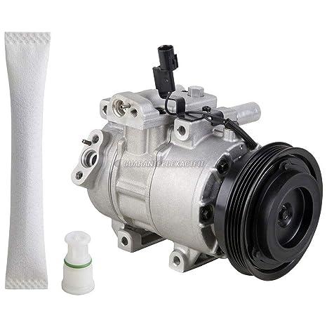 Original OEM nueva AC Compresor y embrague con a/c secador para Kia Rio &
