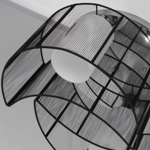 LightInTheBox Black Semi Flush Mount with 2 Lights, Mini Style Chandeliers Modern Ceiling Light ...