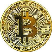 TS Trade oro/argento/rame placcato Btc Bitcoin Coin Collectible Gift moneta Art Collection fisico