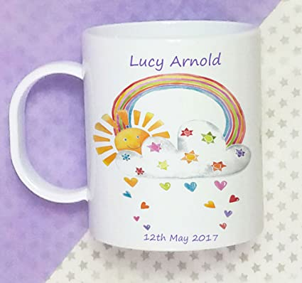 Toddler Cup Baby Gifts Personalised Baptism 1st