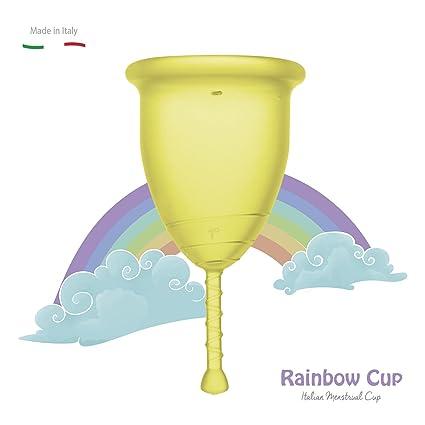 RAINBOWCUP La Nueva y Hermosa Copa menstrual MADE IN ITALY en ...