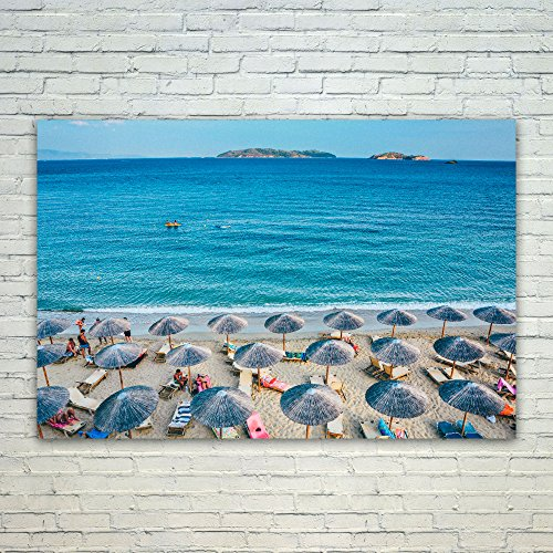 Westlake Art Vacation Beach - 24x36 Poster Print Wall Art -