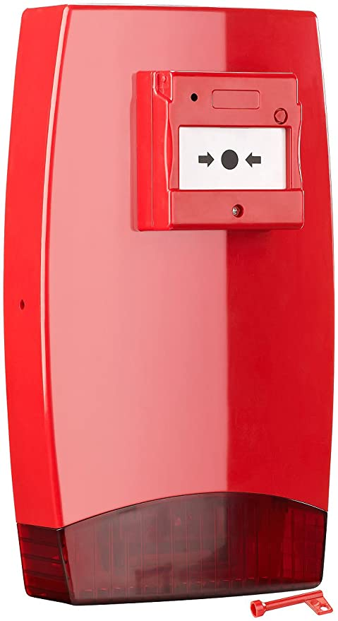 Visortech Inicio-alarma detector con señal acústica y luz ...