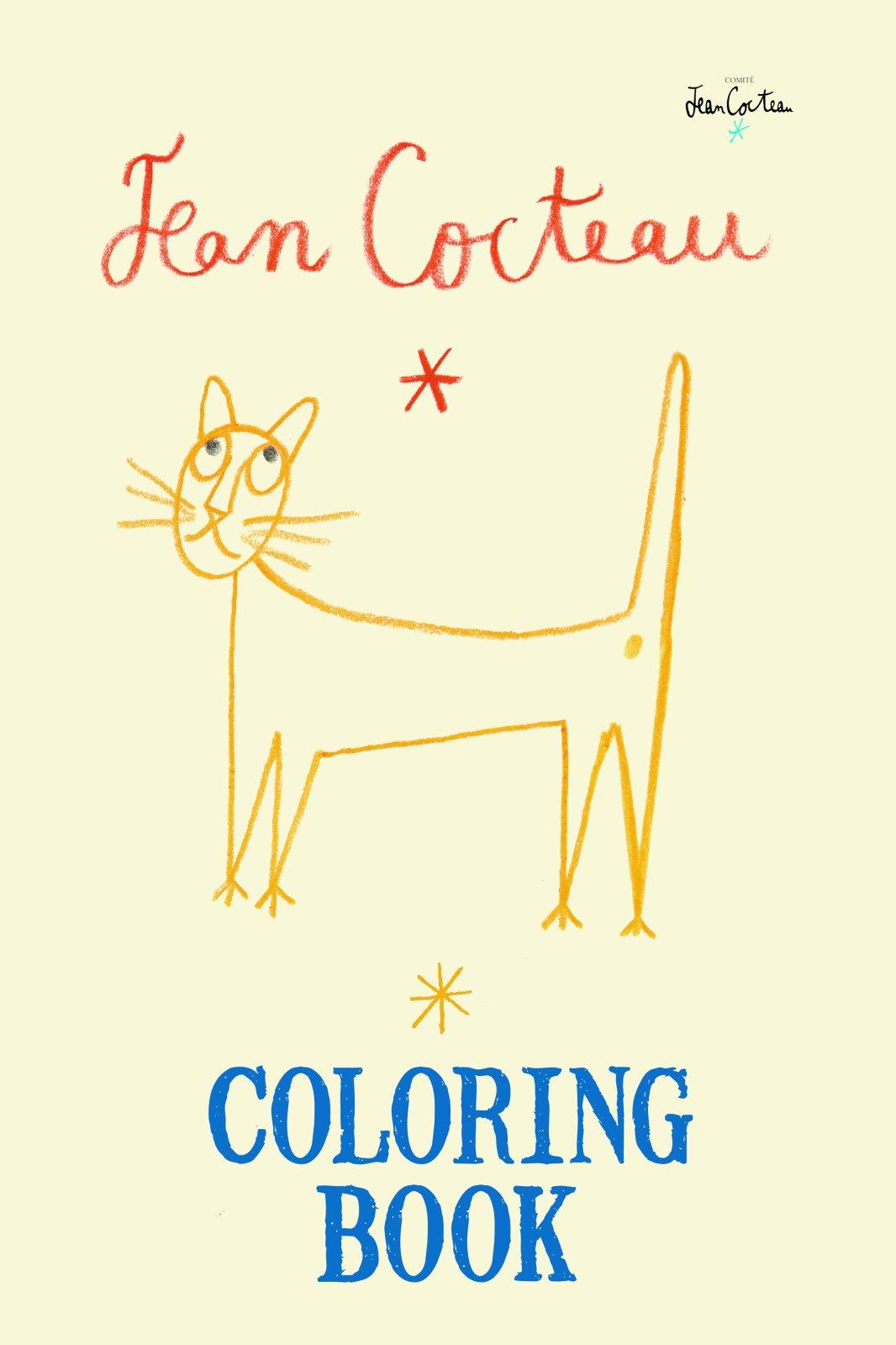 Coloring book yves saint laurent - Jean Cocteau Coloring Book Jean Cocteau Committee 9781551526409 Amazon Com Books
