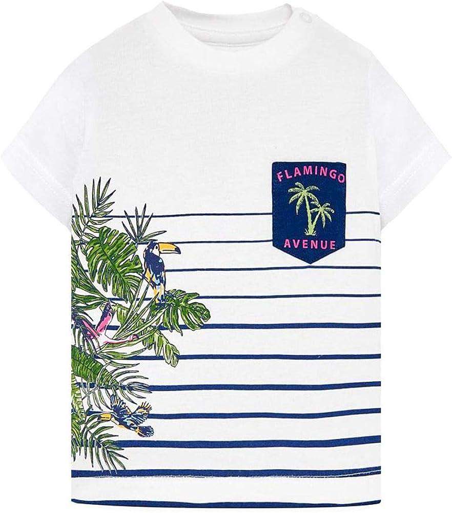 Mayoral Camiseta De Algodón para Bebé, 12 Meses (80 Cm), Crema ...