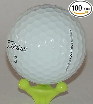 Amazon.com: 100 Titleist Pro V1 y Pro V1 X pelotas de golf ...