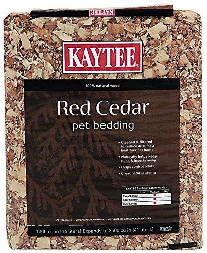 - Kaytee Cedar Bedding, 1000 Cubic Inch