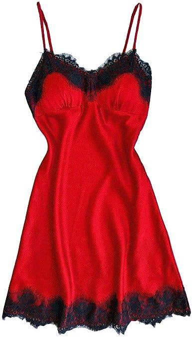 Pijamas para Mujer Ropa Interior erótica Mujer Camisones ...