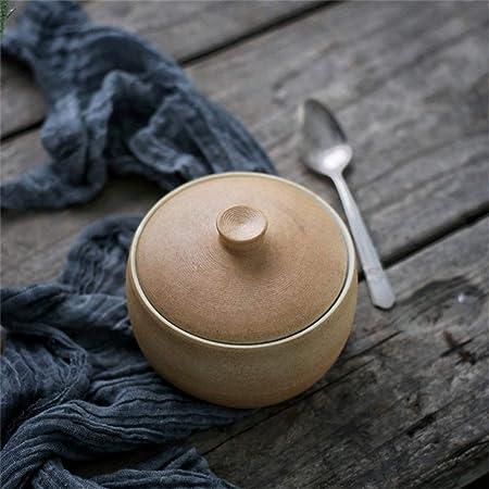 Estofado de ternera Recipiente para hornear Tazón de arroz Retro ...