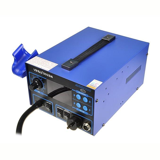 Estación soldadura desoldar soldador aspira Caperuza 992da Control Digital puntas: Amazon.es: Electrónica