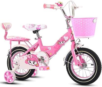ZCRFY Bicicleta para Niños Niñas Bicicletas Infantiles con Canasta Bebé 2-10 Años Carro De Bebé Niño Peso Ligero Seguro Y Cómodo Triciclo Equilibrio: Amazon.es: Deportes y aire libre