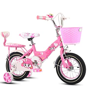 ZCRFY Bicicleta para Niños Niñas Bicicletas Infantiles con Canasta Bebé 2-10 Años Carro De Bebé Niño Peso Ligero Seguro Y Cómodo Triciclo Equilibrio: ...