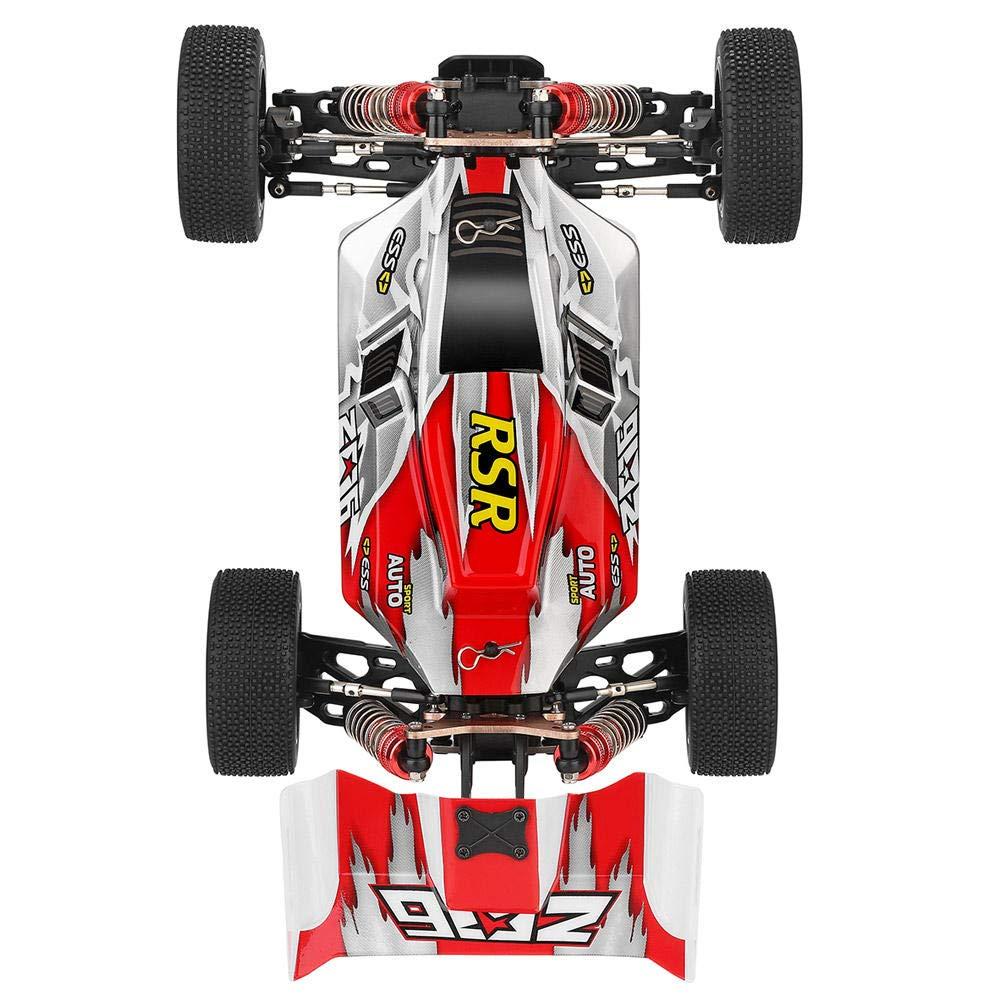 Pacchetto Personalizzato h Senza Scatola dei Colori Rosso RONSHIN Wltoys 144001 1//14 2.4G 4WD ad Alta velocit/à Racing RC Modelli di Veicoli per Auto 60 km