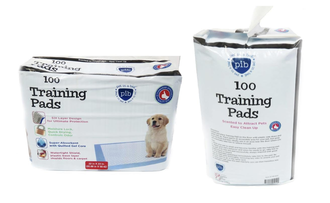 100 Count Creative Pet Group PIB800 Training Pads, 100-Pack