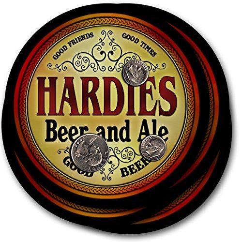 hardies-beer-ale-4-pack-drink-coasters