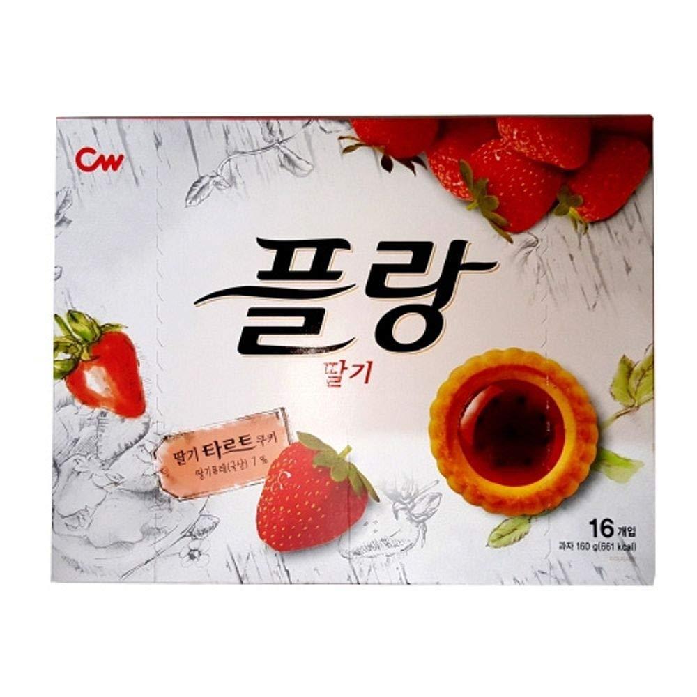 Cwfood Flang Strawberry Tart 160g x 8
