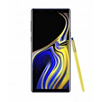 Samsung Galaxy Note 9, SM-N9600, 128GB Dual SIM Factory Unlocked (International Version) (Blue)