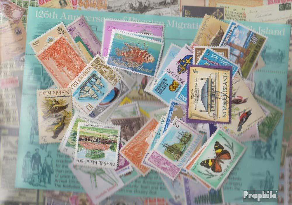 Prophila Collection Norfolk-Isla 150 Diferentes Sellos (Sellos ...