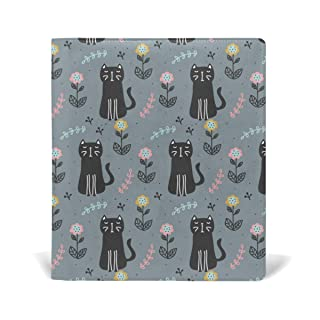 Malplena cute Black Cat School Book Covers perfetto per scuola e regali