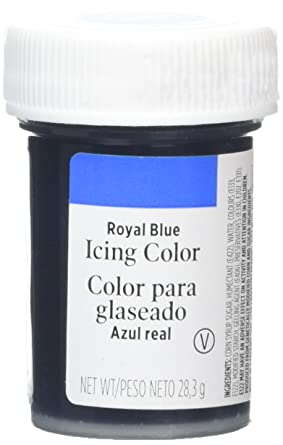Wilton Icing Colour Royal Blue 28.3 g: Amazon.co.uk: Grocery