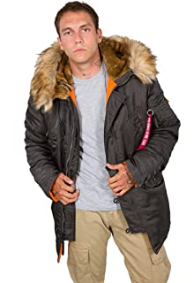 Alpha Industries Herren Mantel: : Auto