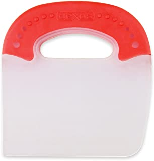 product image for Dexas Poly Food Scraper Pastry Cutter (Red)