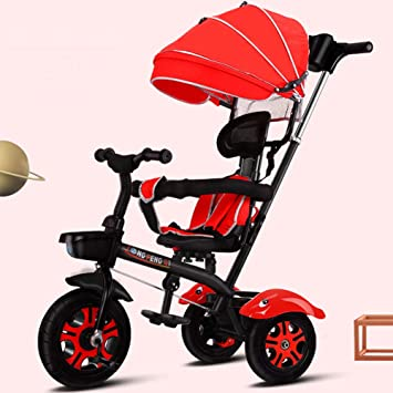 TRICYCLE Triciclo para niños 4 en 1 Durante 6 Meses a 5 años ...