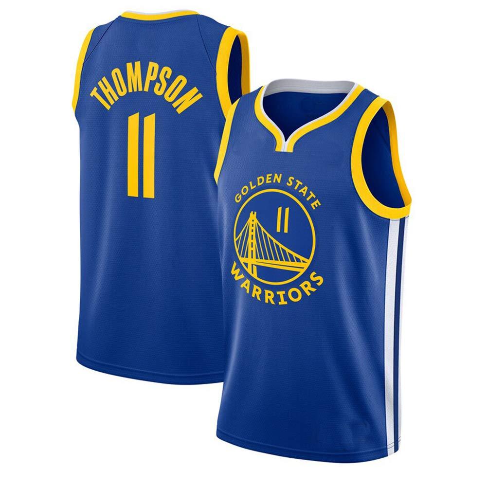 Maglie da basket per ragazzi e ragazze canottiera da basket Stephen Curry 30 maglia 11 Golden State Warriors