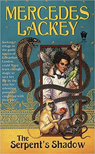 Image result for the serpent's shadow mercedes lackey
