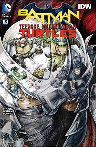 BATMAN TEENAGE MUTANT NINJA TURTLES #3 (OF 6) Cover A ...