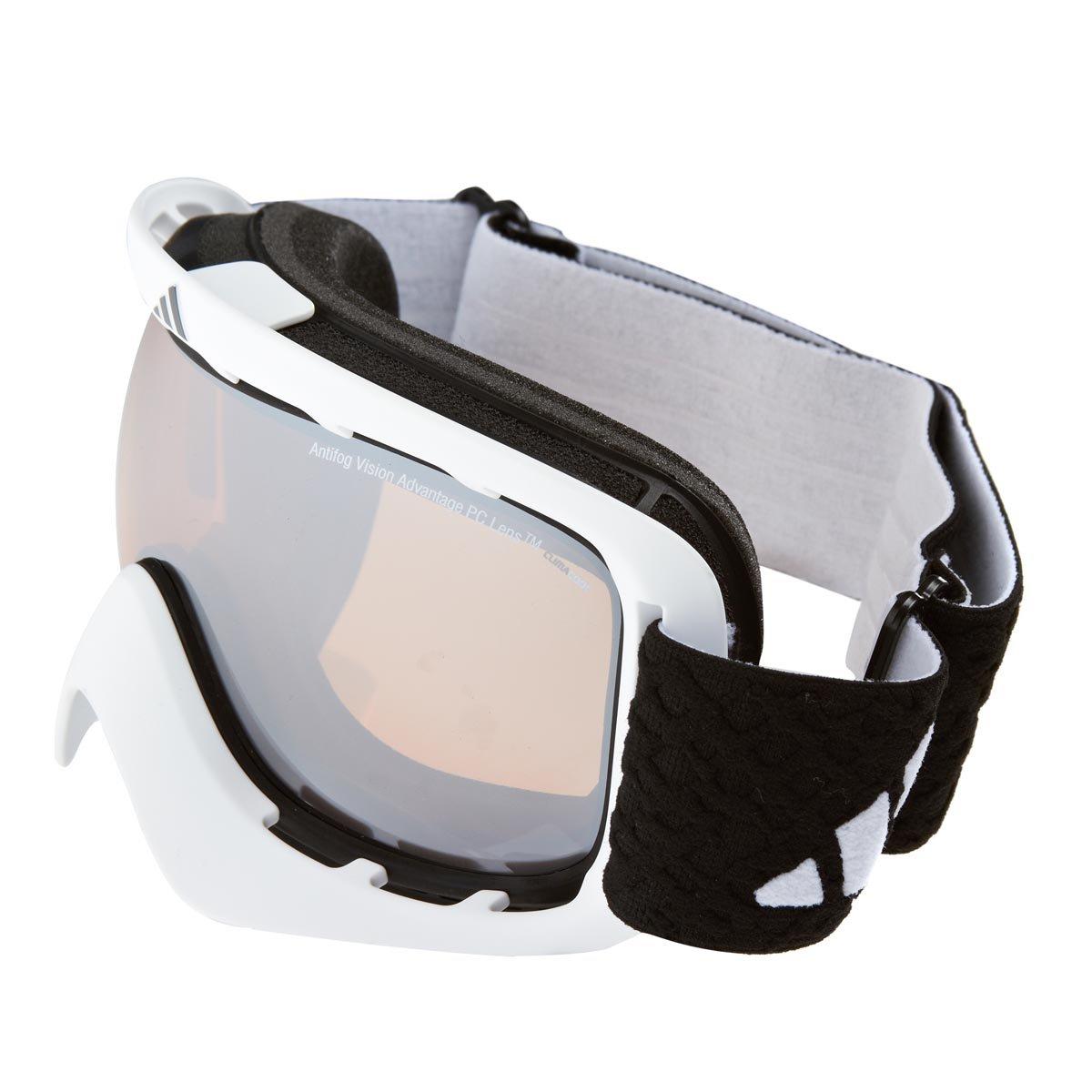 Herren Schneebrille adidas Sport eyewear ID2 matt white