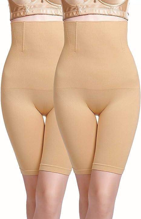 Women High Waist Tummy Control Body Shaper Panty Briefs Thigh Slimmer Underwear