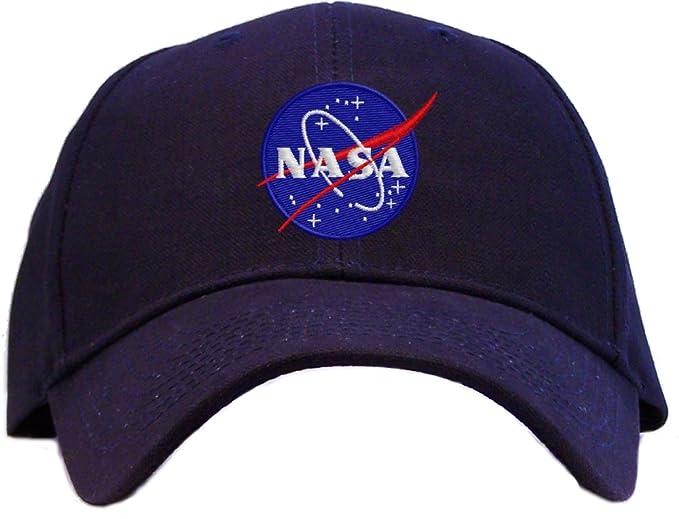Nasa - Meatball Insignia Embroidered Baseball Cap - Navy at Amazon ... 90c5151477bb