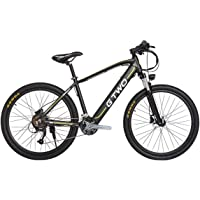GTWO G2 Bicicleta eléctrica de 27.5 Pulgadas 350W Bicicleta de montaña 48V 9.6Ah Batería de Litio extraíble 5 Pas Freno…