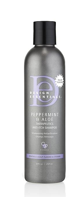 Amazoncom Design Essentials Peppermint Aloe Anti Itch Shampoo