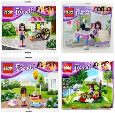 Lego Friends 93088pb03 Dog Beige Kate Andrea Stephanie Mia Emma Accessories M 167