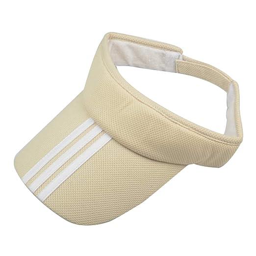 c3a6d094f9c Image Unavailable. Image not available for. Color  Sports Tennis Golf Sun  Visor Hat Hats Adjustable Plain Bright Color Men Women
