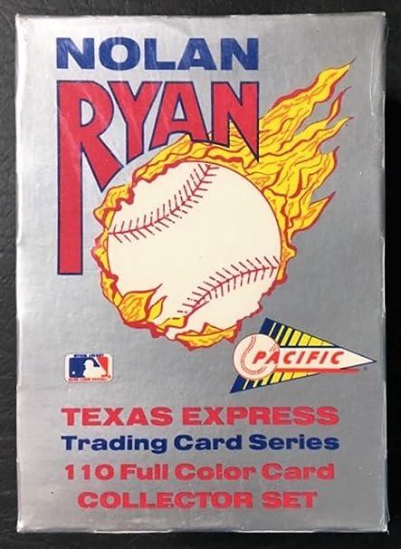 Amazoncom 1991 Nolan Ryan Texas Express Trading Card